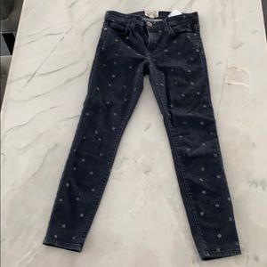 Current Elliott skinny star jeans